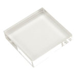 Scrapbook Customs - Clear Acrylic Block - 3 x 3