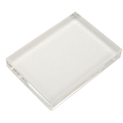 Scrapbook Customs - Clear Acrylic Block - 4 x 6