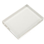 Scrapbook Customs - Clear Acrylic Block - 4 x 6