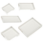 Scrapbook Customs - Clear Acrylic Block - Set of 5