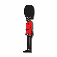 Scrapbook Customs - World Collection - England - Laser Cut - Buckingham Palace Guard
