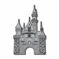 Scrapbook Customs - United States Collection - California - Laser Cut - Castle with Bricks