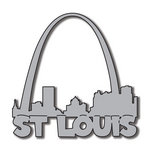 Scrapbook Customs - United States Collection - Missouri - Laser Cut - St. Louis