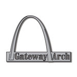 Scrapbook Customs - United States Collection - Missouri - Laser Cut - Gateway Arch