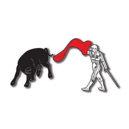 Scrapbook Customs - World Collection - Spain - Laser Cut - Matador and Bull