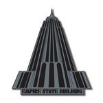 Scrapbook Customs - United States Collection - New York - Laser Cut - Empire State Building