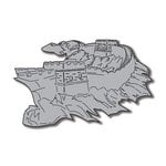 Scrapbook Customs - World Collection - China - Laser Cut - Great Wall