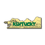Scrapbook Customs - United States Collection - Kentucky - Laser Cut - Word and Background