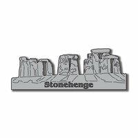 Scrapbook Customs - World Collection - England - Laser Cut - Stonehenge