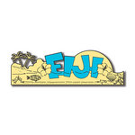Scrapbook Customs - World Collection - Fiji - Laser Cut - Word and Background