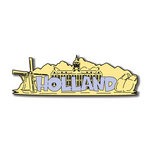 Scrapbook Customs - World Collection - Holland - Laser Cut - Word and Background