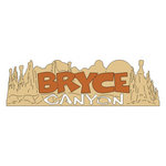 Scrapbook Customs - United States Collection - Utah - Laser Cut - Bryce Canyon