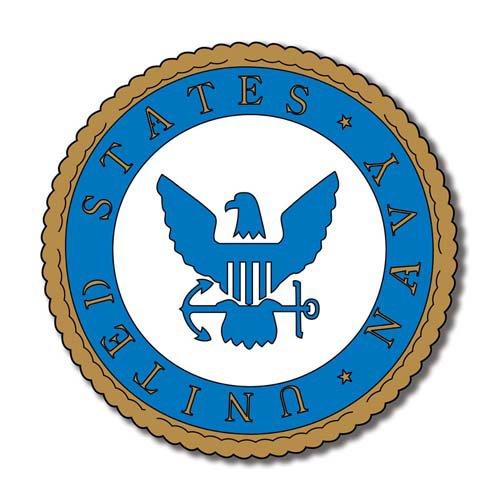 Scrapbook Customs - Military Collection - Laser Cut - Navy Emblem