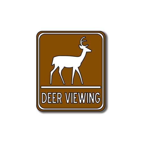 Scrapbook Customs - Sports Collection - Laser Cut - Deer Viewing Sign