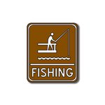 Scrapbook Customs - Sports Collection - Laser Cut - Fishing Sign