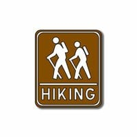 Scrapbook Customs - Sports Collection - Laser Cut - Hiking Sign