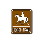 Scrapbook Customs - Sports Collection - Laser Cut - Horse Trail Sign