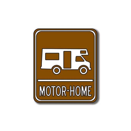 Scrapbook Customs - Sports Collection - Laser Cut - Motor-Home Sign