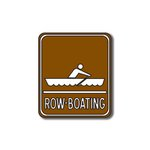 Scrapbook Customs - Sports Collection - Laser Cut - Row-Boating Sign