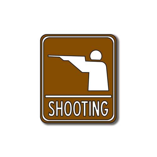 Scrapbook Customs - Sports Collection - Laser Cut - Shooting Sign