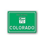 Scrapbook Customs - United States Collection - Colorado - Laser Cut - Now Entering Sign