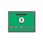 Scrapbook Customs - United States Collection - New Mexico - Laser Cut - Now Entering Sign