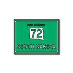 Scrapbook Customs - United States Collection - South Dakota - Laser Cut - Now Entering Sign