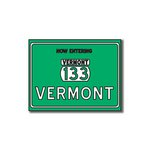 Scrapbook Customs - United States Collection - Vermont - Laser Cut - Now Entering Sign