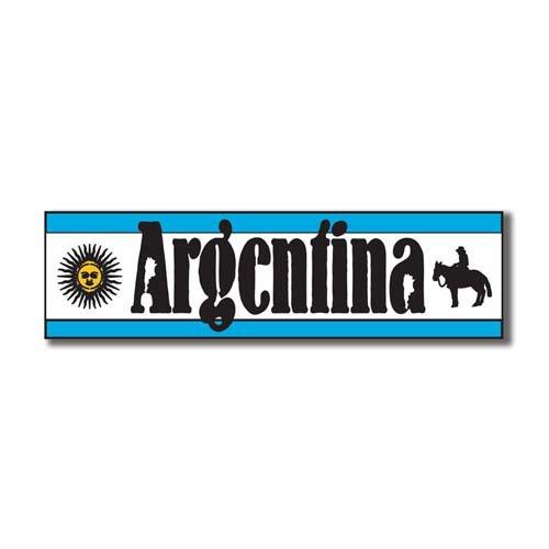 Scrapbook Customs - World Collection - Argentina - Laser Cut - Travel Topper