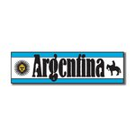 Scrapbook Customs - World Collection - Argentina - Laser Cut - Travel Topper