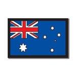 Scrapbook Customs - World Collection - Australia - Laser Cut - Flag