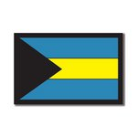 Scrapbook Customs - World Collection - Bahamas - Laser Cut - Flag