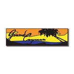 Scrapbook Customs - World Collection - Grand Cayman - Laser Cut - Travel Topper