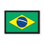 Scrapbook Customs - World Collection - Brazil - Laser Cut - Flag