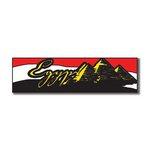 Scrapbook Customs - World Collection - Egypt - Laser Cut - Travel Topper