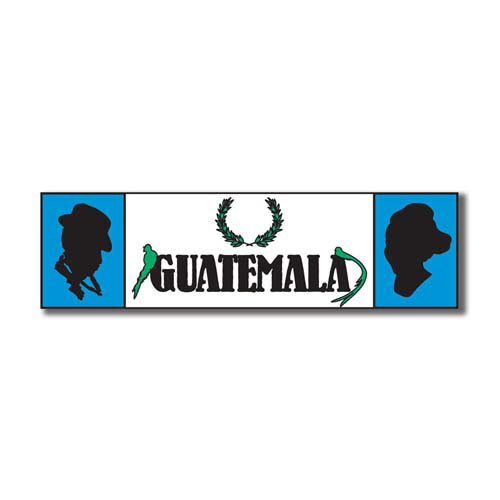 Scrapbook Customs - World Collection - Guatemala - Laser Cut - Travel Topper