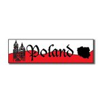 Scrapbook Customs - World Collection - Poland - Laser Cut - Travel Topper