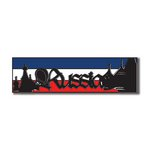 Scrapbook Customs - World Collection - Russia - Laser Cut - Travel Topper