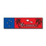 Scrapbook Customs - World Collection - Samoa - Laser Cut - Travel Topper