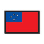 Scrapbook Customs - World Collection - Samoa - Laser Cut - Flag