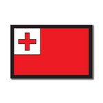 Scrapbook Customs - World Collection - Tonga - Laser Cut - Flag