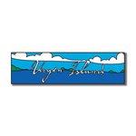 Scrapbook Customs - World Collection - Virgin Islands - Laser Cut - Travel Topper