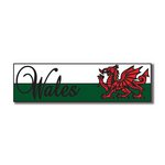 Scrapbook Customs - World Collection - Wales - Laser Cut - Travel Topper