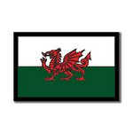 Scrapbook Customs - World Collection - Wales - Laser Cut - Flag