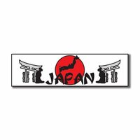 Scrapbook Customs - World Collection - Japan - Laser Cut - Travel Topper