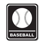 Scrapbook Customs - Sports Collection - Laser Cut - Baseball Sign