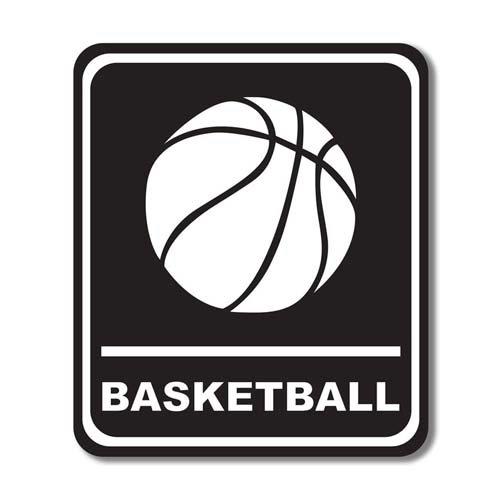 301819875389c Sports Collection - Laser Cut - Basketball Sign - Scrapbook Customs