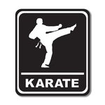 Scrapbook Customs - Sports Collection - Laser Cut - Karate Sign
