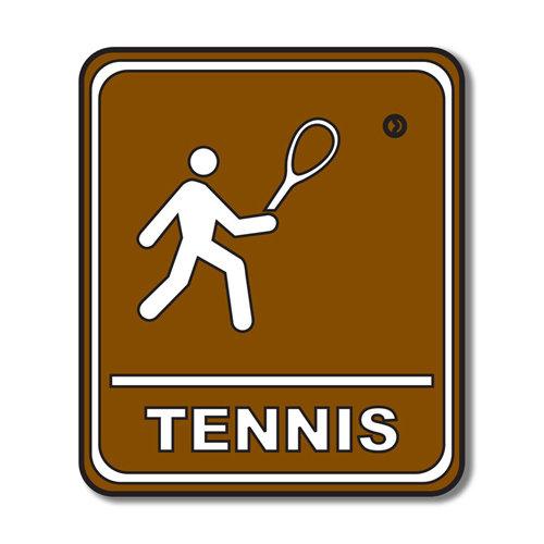 Scrapbook Customs - Sports Collection - Laser Cut - Tennis Sign