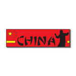 Scrapbook Customs - World Collection - China - Laser Cut - Travel Topper